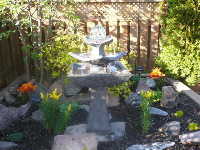 Asian Patio Zen Garden