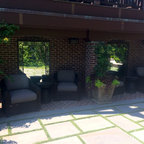 Tropical Oasis Traditional Patio Omaha By