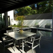 Modern Patio by Howard Design Studio