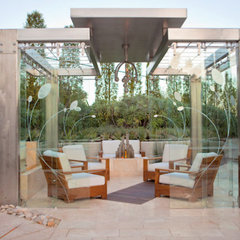 contemporary patio by Zeterre Landscape Architecture
