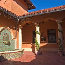 Mediterranean Patio by Malibu Ceramic Works