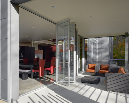 Accordion Glass Doors accordion glass door | houzz