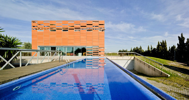Contemporary Pool by xpiral arquitectura