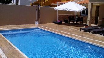 Construcción de nueva piscina