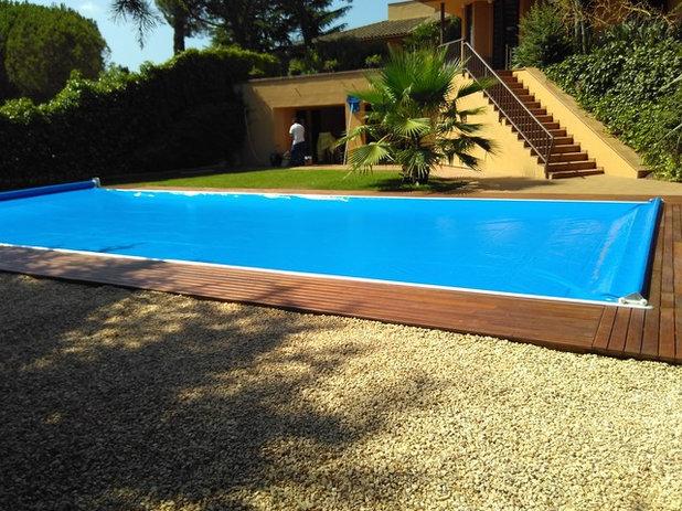 Contemporáneo Piscina by CoverApool -  Cubiertas de piscinas