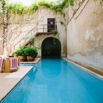 Ejecución de piscinas