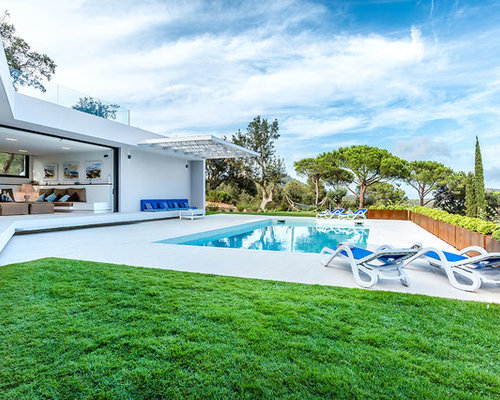 Fotos de piscinas dise os de piscinas alargadas for Piscinas alargadas