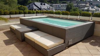 Instaladores oficiales de piscinas modulares Laghetto