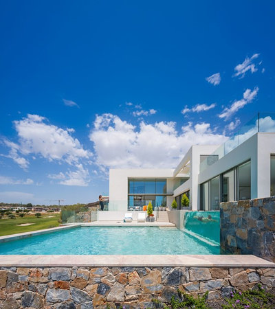 Contemporary Pool by Gestec