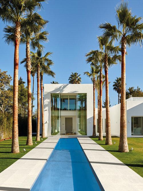 Fotos de exteriores dise os de exteriores modernos for Piscinas modelos modernos