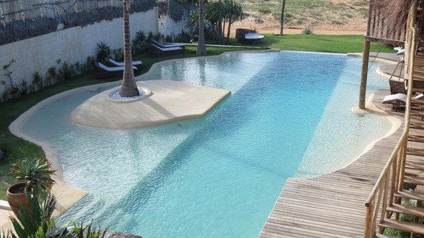 Consejos para instalar piscinas de arena en casa for Ladrillos para piletas