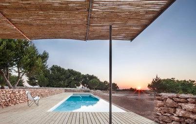 Más vale una imagen...: 7 terrazas de cañizo con mucho encanto
