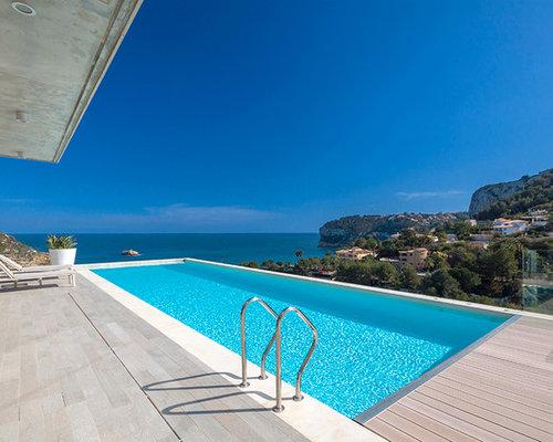 Fotos de piscinas dise os de piscinas con fuente for Piscinas disenos fotos