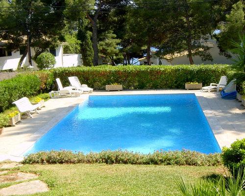 Fotos de piscinas dise os de casas de la piscina y piscinas de estilo de casa de campo en patio - Piscinas en el campo ...