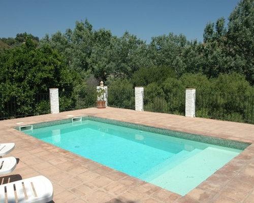 idee fr kleine geflieste country lap pools in rechteckiger form in sonstige - Pool Design Ideen Bilder
