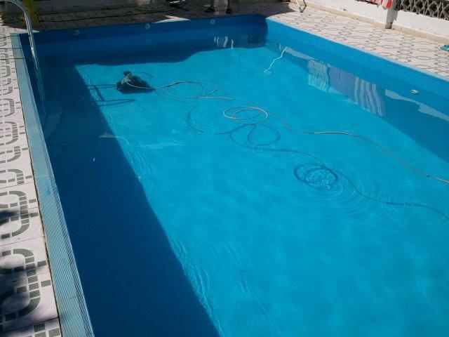 Piscinas as debes mantenerla para que est en perfectas for Barredera piscina