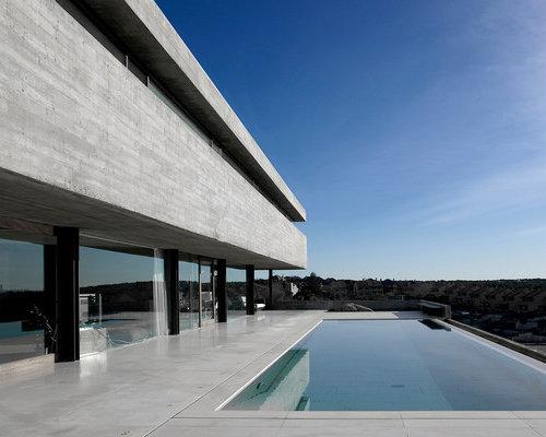 Fotos de piscinas dise os de casas de la piscina y for Patios modernos con piscina