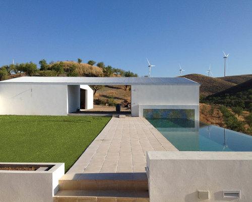 Gallery of inspiration pour une piscine dbordement et for Deco piscine espagne