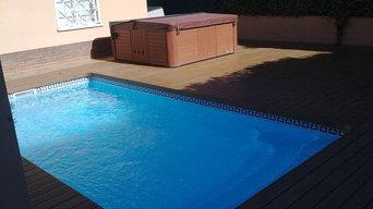 Tarima Exterior para piscinas