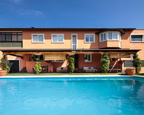 Fotos de piscinas dise os de piscinas de estilo de casa for Piletas de campo