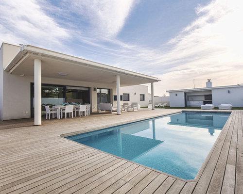Medidas de piscinas de casas plano de casa de campo for Medidas de piscinas de casas