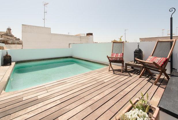 Image result for terrazas con piscina