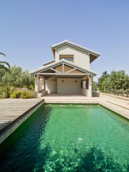 Fotos de piscinas dise os de piscinas de estilo de casa for Casas con piscina bucaramanga