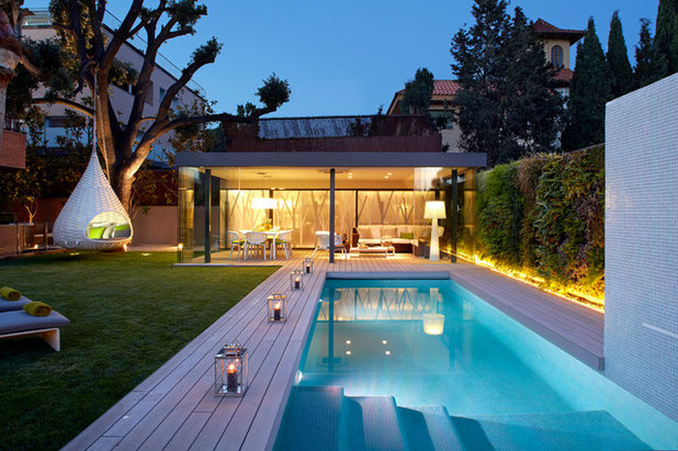 Contemporáneo Piscina by MOLINS DESIGN