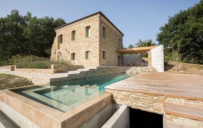 Avant/Après : La renaissance d'une villa italienne en ruine