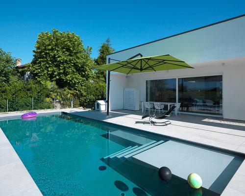 Foto e idee per piscine piscina a sfioro infinito - Lettere stampabili di medie dimensioni ...