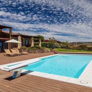 Foto e Idee per Piscine - grande piscina contemporanea
