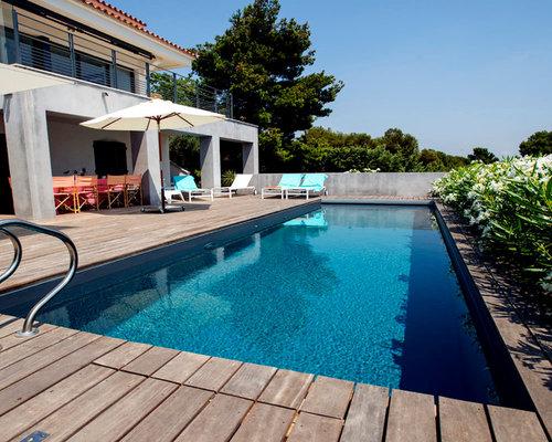 Foto e idee per piscine piscina moderna - Piscine moderne ...