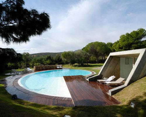 Foto e idee per piscine piscina naturale contemporanea for Piscina naturale