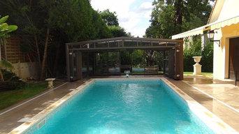 Abris piscine haut