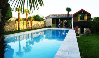Atelier d'artiste et piscine