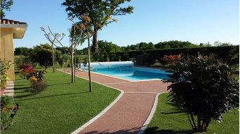 Autour des piscines