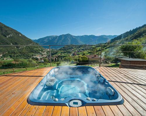Foto e idee per piscine piscina in montagna - Piccola piscina ...