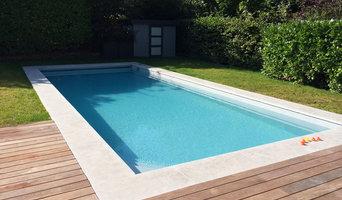 construction d'une piscine Caron design dans les yvelines