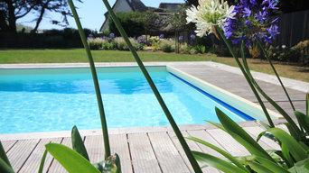 Création piscine familiale