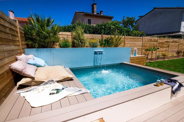 Mediterranean Swimming Pool by Beogarden - Créateur d'espace Piscine et Spa