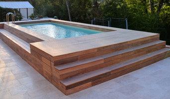 Entourage de piscine à Roquefort les Pins
