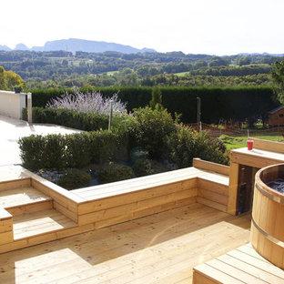Espace spa bois en Haute Savoie