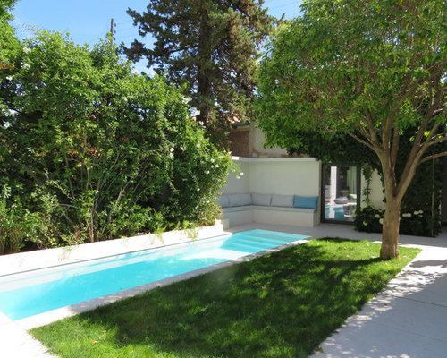 piscine avec une dalle de b ton photos et id es d co de. Black Bedroom Furniture Sets. Home Design Ideas