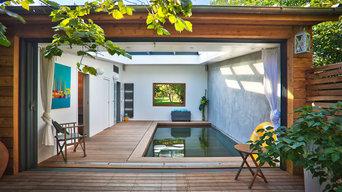 extension piscine interieure