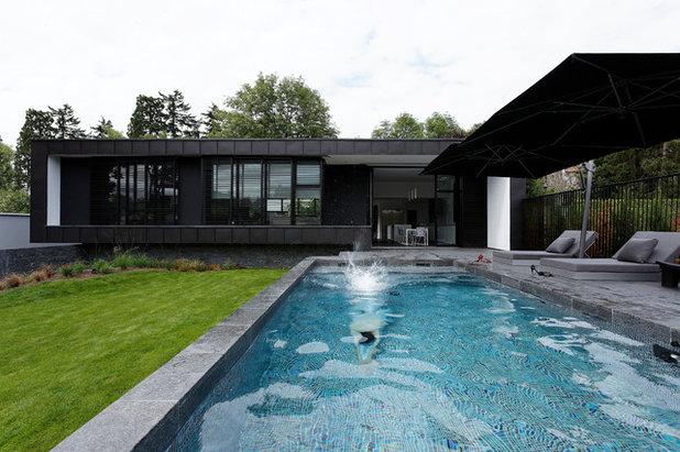 Contemporain Piscine by Lode Architecture