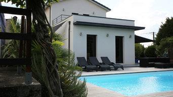 Maison Contemporaine à Saint-Cyr-Au-Mont-D'Or