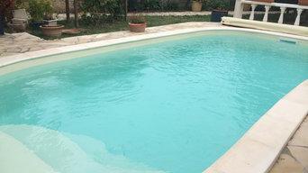piscine BETA 6.5 m x 3.4 m