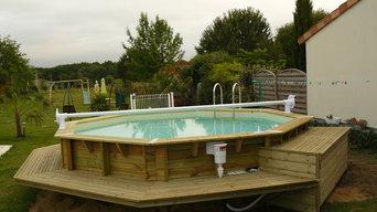 piscine bois et son aménagement