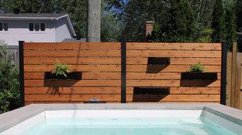 Projet De Bourgogne - Clôture pour piscine extérieur