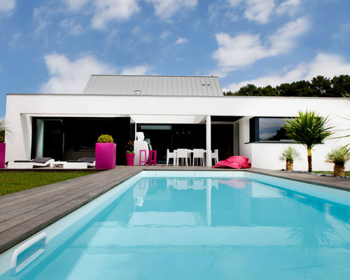 Piscine contemporaine photos et id es d co de piscines for Piscine tissot
